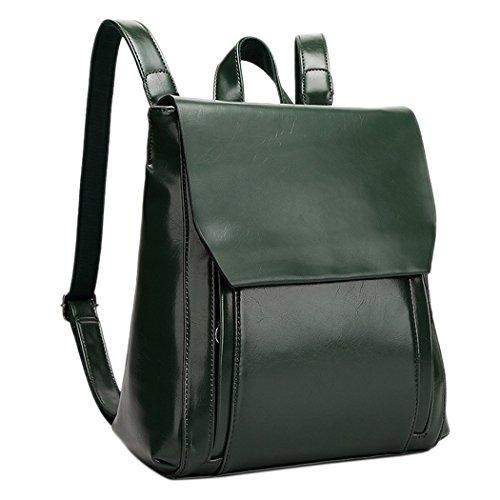 Coofit-Frauen-l-und-Wachs-Leder-Rucksack-Damen-Umhngetasche-Reiverschluss-Handtasche-Tasche-Reisen