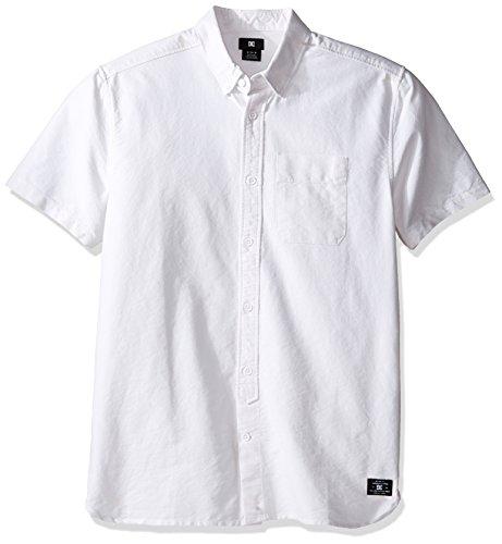 Oxford Woven Oxford-hemd (DC Men's Oxford Short Sleeve 3 Woven Top)