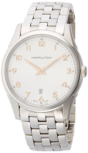 HAMILTON MEN'S 42MM STEEL BRACELET & CASE QUARTZ ANALOG WATCH H38511113