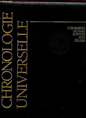 CHRONOLOGIE UNIVERSELLE - ELGISE ET CULTURE OCCIDENTALE.