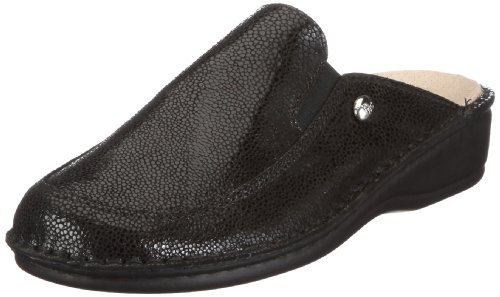 Hans Herrmann Collection hhc Siena 022053-10 Damen Clogs & Pantoletten Schwarz/Nero