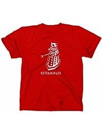 Dalek Exterminate Doctor Who T-shirt, BBC, TV série