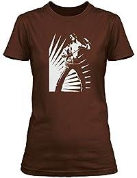 Bon Scott Live Wire AC/DC T-shirt, Damen