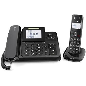 Gigaset DL500A Telefono Fisso con Segreteria Telefonica