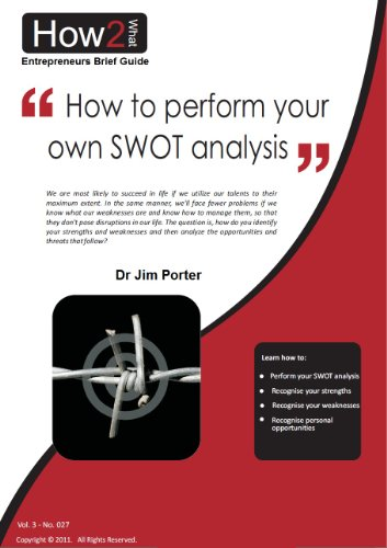 How to perform your own SWOT analysis (Entrepreneurs Brief Guide Book 3)