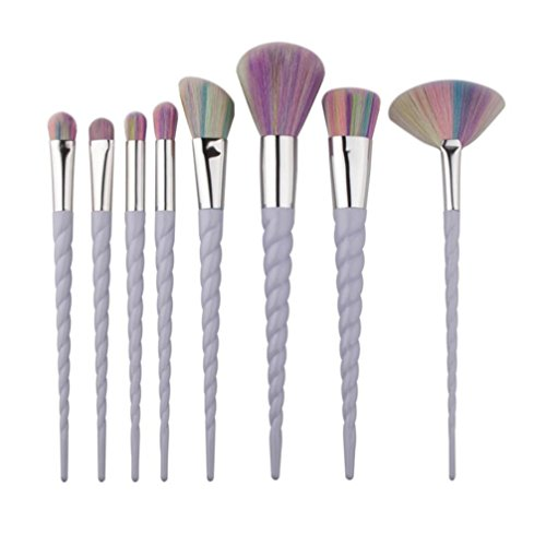 Covermason 8Pcs/Set Make Up Brushes For Foundation Eyebrow Eyeliner Blush Cosmetic Concealer