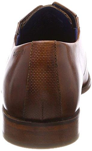 Bugatti 311453031100, Scarpe Stringate Derby Uomo Marrone (Cognac)