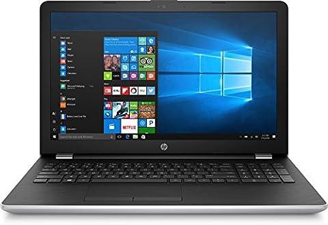 "HP 15-bw039nf PC Portable 15"" Gris/Argent (AMD A9, 8 Go de RAM, 1 To + SSD 128 Go, AMD R5, Windows 10)"