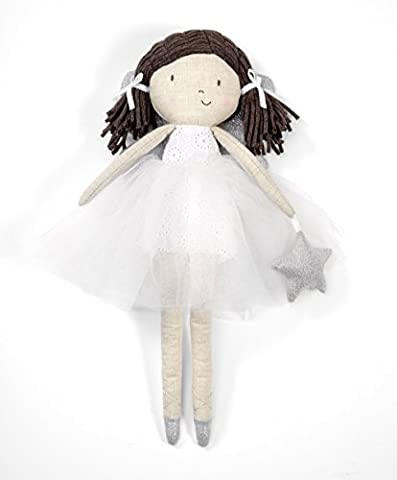 Mamas & Papas Christmas Fairy Doll - Suitable From Birth