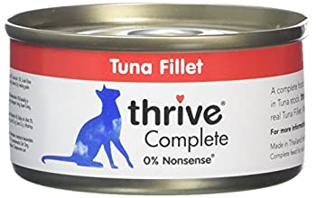 Thrive Complete Nourriture avec Thon pour Chat 6 x 75 g