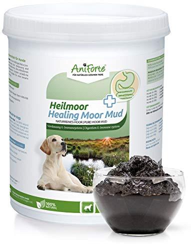 AniForte Heilmoor für Hunde 1200g - Verbessert die Kotbeschaffenheit, Verdauung, Immunsystem, Magen-Darm-Aktivität, Anregung Appetit - Natürliche Heilerde mit hoher Akzeptanz