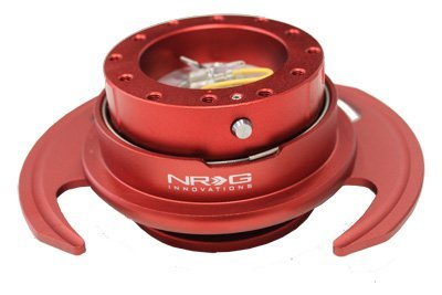 NRG Lenkrad Quick Release Kit–Rot Gen 3–Teil # srk-650rd