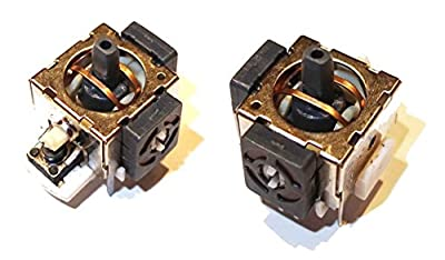 2 x Replacement XBOX 360  Playstation PS2 Controller Thumbstick 3D Module