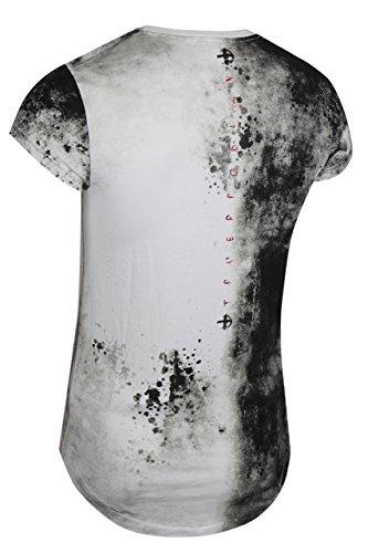 trueprodigy Casual Herren Marken T-Shirt mit Aufdruck, Oberteil cool und stylisch mit Rundhals (kurzarm & Slim Fit), Shirt für Männer bedruckt Farbe: Schwarz 1072166-2999 Black