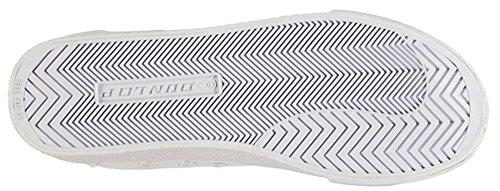 Dunlop , Baskets mode pour homme Taille unique Blanc/bleu marine