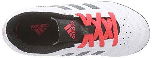 adidas Goletto V Tf, Scarpe da Calcio Unisex – Bambini Bianco (Weiß (Ftwr White/Night Met. F13/Shock Red S16))