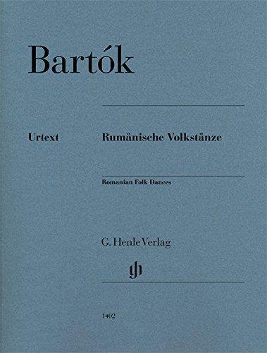 Romanian Folk Dances - Piano - Urtext - HN1402 par Béla Bartók