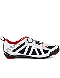 Spiuk Progeny Triathlon - Zapatillas unisex, color blanco