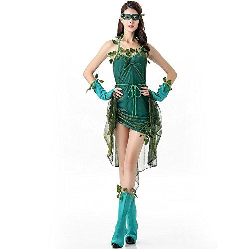 Sexy Elf Kostüm Elfen Damen Kleid Karneval Fasching Damen Elfenkostüm, (Kostüme Holde Maid)