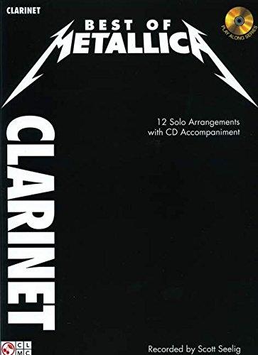 Best Of Metallica Clarinet Book/Cd par Divers