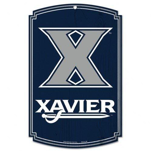 Bek College Holzschild, 11 x 17 cm Xavier Xavier University Basketball