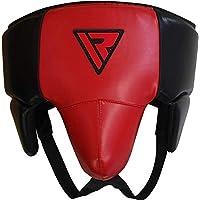 RDX MMA–Coquilla para Deportes de Lucha para Hombre suspensorio homologado Karate Kickboxing, Todo el año, Hombre, Color Rojo, tamaño Extra-Large