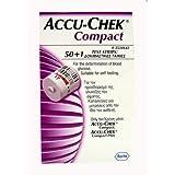 Accu-Chek Compact Tiras de Prueba 50+1