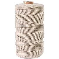 72e2b71e42ac Cordón de algodón natural Bohemia Macrame cuerda DIY Macrame Wall ...