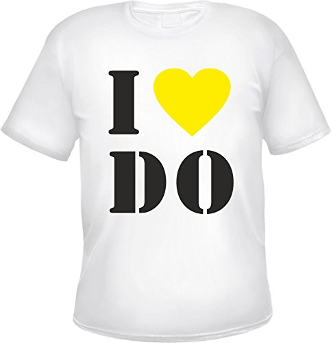 Dortmund T-Shirt - I Love Do Weiß