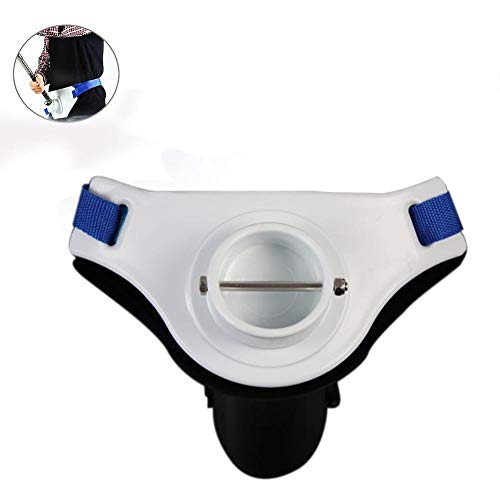 Su-luoyu La Pesca En Barco Entrada Ajustable y portátil De Pie Luchando Cinturón De Arnés,Plástico ABS,27.5-47 Pulgadas