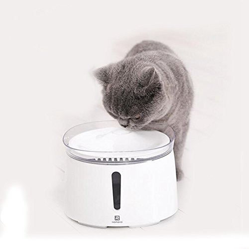 JL Dispensador De Agua Inteligente para Mascotas Filtración De Oxígeno Automática Cintura del Cubo Dispensador De Agua De Alimentación Cat Perros Suministros para,Waterdispenser