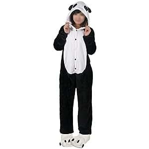 HEMOON Costume Deguisement Unisexe Combinaison Pyjama Animal Adultes Polaire Panda M