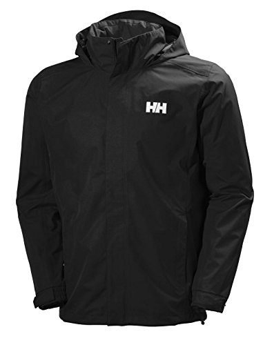 Helly Hansen Dubliner Jacket, Giacca Sportiva Uomo, Nero (990), L
