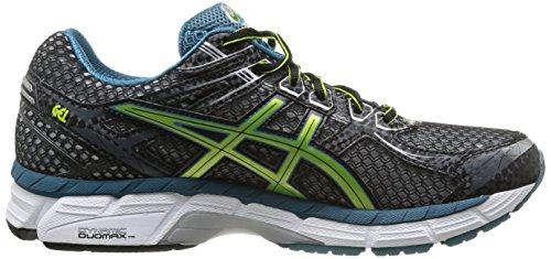 Asics Gt-2000 2, Chaussures de trail homme Noir (9005-Black/Lime/Tapestry)