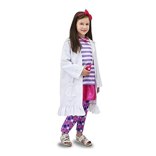 Costume carnevale allegra dottoressa vestito travestimento di pegasus - 0694
