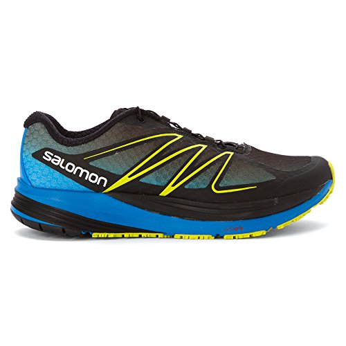 Salomon Black Methyl Blue Gecko Green