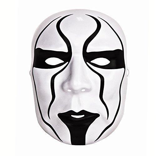 STING WWE OFFICIAL KOSTÜM MASKE (Wwe Kostüme)