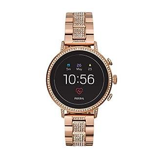 Fossil Smartwatch para Mujer con Correa en Acero Inoxidable FTW6011