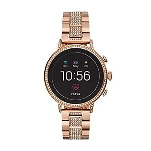 Fossil Smartwatch Donna con Cinturino in Acciaio Inox FTW6011
