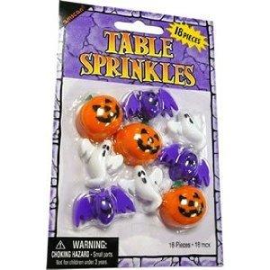 Nette Charaktere Halloween Tabelle Streusel (Packung mit 18)