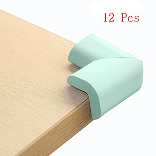 hkfv 12pcs de alta calidad suave Home muebles esquina para esquina Protector...