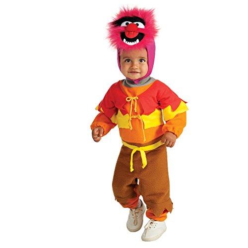 The Muppets - Tier Babykostüm - 6-12 Monate