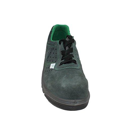 TPS T5454 S1P Sicherheitsschuhe Arbeitsschuhe Berufsschuhe Businessschuhe Trekkingschuhe flach Grün Grün