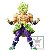 Broly Original BANPRESTO CRANEKING Größe 24 cm Dragon Ball Z Super Coleccion Goku Vegeta Film