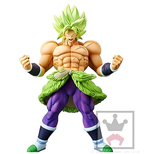 Figura Broly Original BANPRESTO CRANEKING tamaño 24cm Dragon Ball Z S