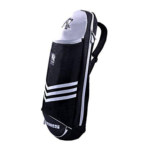 Waterproof Badminton Racket Cover Racquet Bag Sling Bag Backpack Sports - Black Test