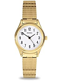 Sekonda Model 4602.27 Ladies Gold Plated Analogue Expander Watch