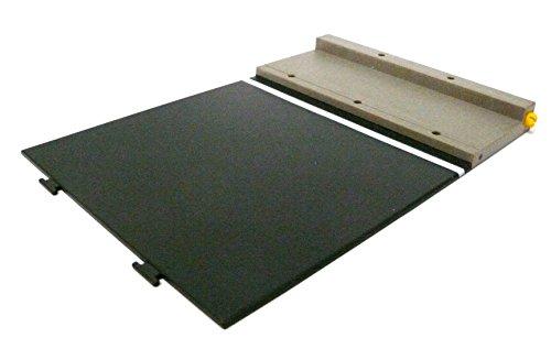 Preisvergleich Produktbild playmobil ® - Straßenplatte - Platte - 19.5 x 13.5 cm - Rennstrecke Autobahn Baustelle