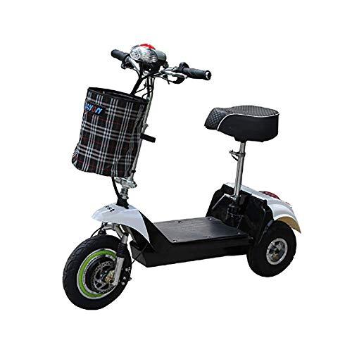 SPEU Dolphin Electric Dreirad Tragbare Mini klappbar Männlich Und Weibliche Fahrrad, Geschwindigkeit 25KM/H, geeignet für Reise-und Freizeitaktivitäten, einfach zu platzieren im Auto-Trunk