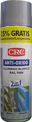 CRC - Spray Imprimación De Zinc Más Color En Un Sólo Producto.Antioxido...